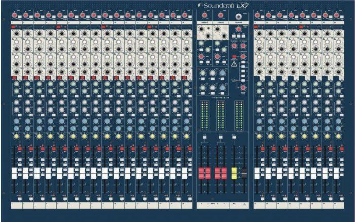 Soundcraft LX7ii 24ch 24+4/4/3 Console, RW5675
