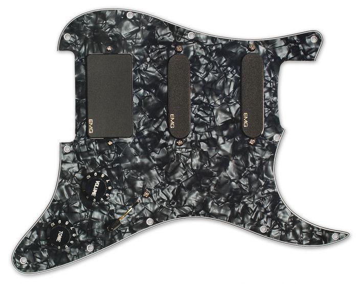 EMG Steve Lukather SLV/SLV/85 Pro Series Pickguard - Black[, 1505.00]