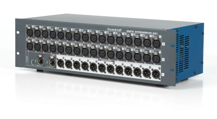Soundcraft Mini Stagebox 32i Compact Digital Stagebox with Remote Controlled I/O[, 5074418]