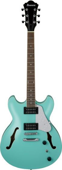 Ibanez AS63 SFG AS Artore Vibrante Sea Foam Green Semi-Hollow Body Electric Guitar, AS63SFG