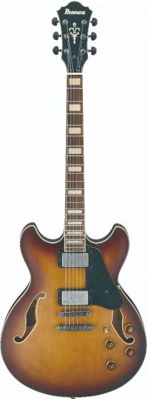 Ibanez ASV73 VLL ASV Artcore Vintage Violin Sunburst Low Gloss Semi-Hollow Body Electric Guitar, ASV73VLL