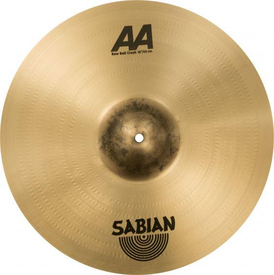 """Sabian 18"""" AA Raw Bell Crash, 2180772"""