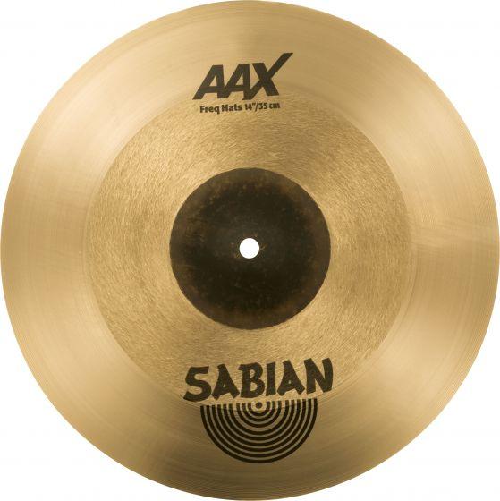 "Sabian 14"" AAX Freq Hats, 214XFHN"