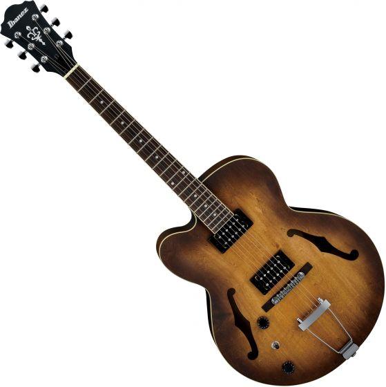 Ibanez AF Artcore AF55LTF Left-Handed Electric Guitar Tobacco Flat[, AF55LTF]