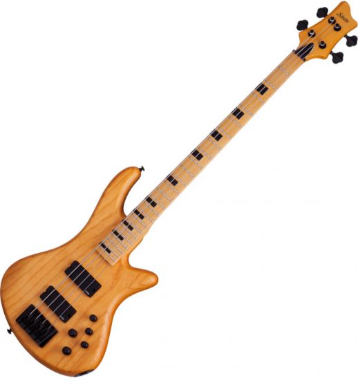Schecter Session Stiletto-4 Electric Bass in Aged Natural Satin Finish[, 2850]