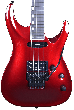 ESP Horizon-I Electric Guitar in Deep Candy Apple Red with Case, EHORIDCAR
