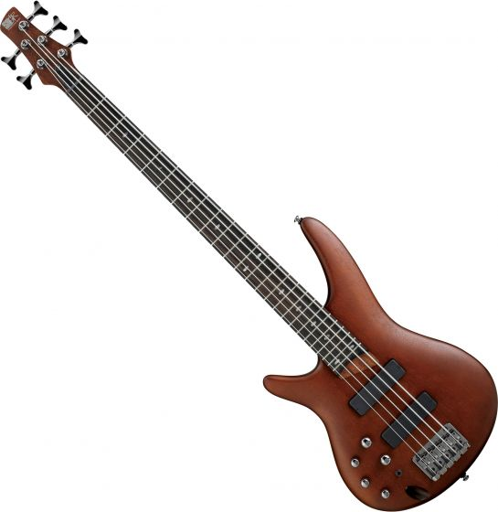 Ibanez SR Standard SR505L Left-Handed 5 String Electric Bass Brown Mahogany, SR505BML