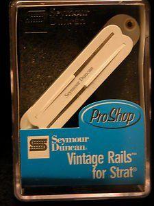 Seymour Duncan Humbucker SVR-1B Vintage Rails Bridge Pickup For Strat, 11205-14