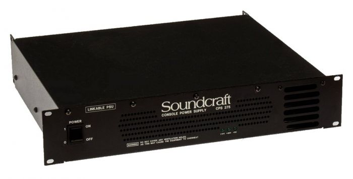 Soundcraft CPS275 Power Supply with Link Cable for Ghost and Ghost LE Consoles, RW8022US