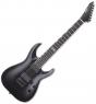ESP E-II Horizon NT-7B Hipshot 7 String Baritone Electric Guitar Black Satin, EIIHORNT7BHSBLKS