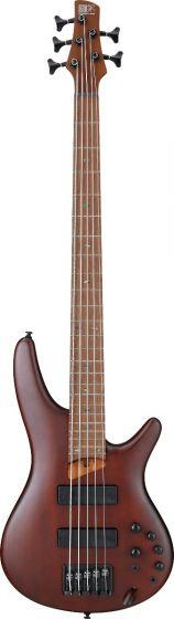 Ibanez SR Standard SR505E 5 String Brown Mahogany Bass Guitar, SR505EBM