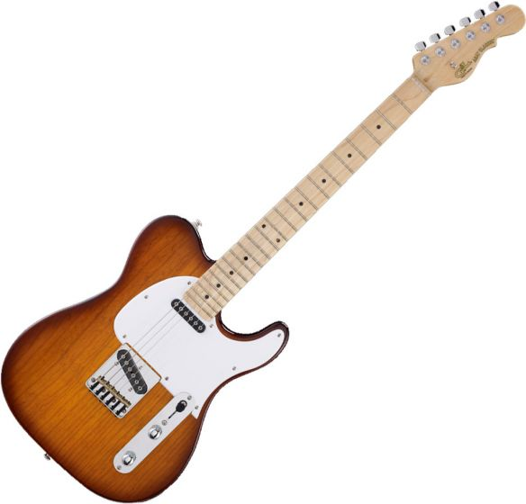 G&L Tribute ASAT Classic Electric Guitar Tobacco Sunburst, TI-ACL-123R24M80