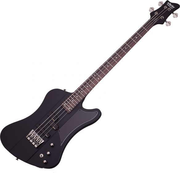 Schecter Sixx Electric Bass in Satin Black Finish, 210
