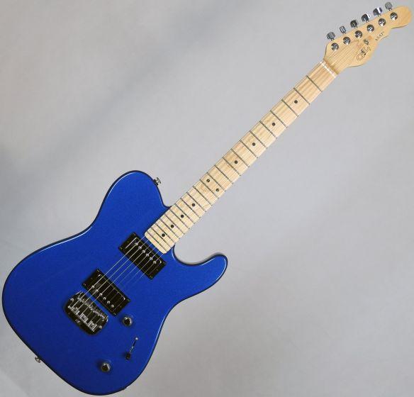G&L USA ASAT HH RMC Electric Guitar Midnight Blue Metallic, USA AST-HHRMC-MBM-MP 9066