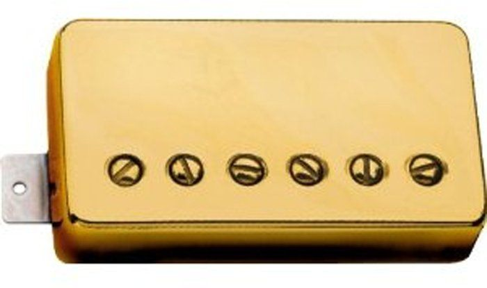 Seymour Duncan Humbucker APH-1N Alnico 2 Pro Neck Pickup Gold Cover, 11104-01-Gc