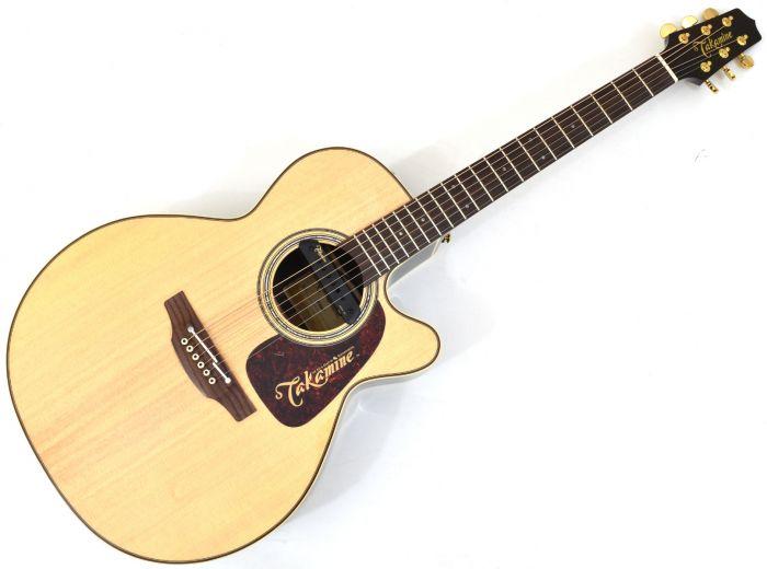 Takamine P5NC-TRIAX Pro Series 5 Cutaway Acoustic Guitar Natural Gloss, P5NCTRIAX