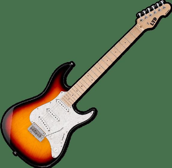ESP LTD SN-200W Electric Guitar in Tobacco Sunburst, LTD SN200W TBS