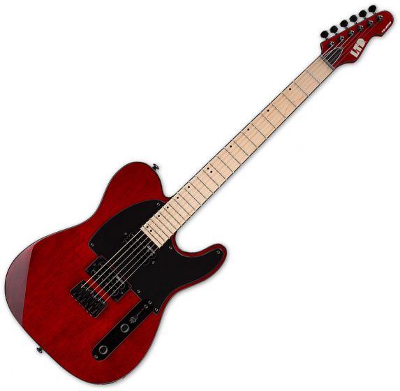 ESP LTD TE-200 Electric Guitar See Thru Black Cherry, LTE200MSTBC