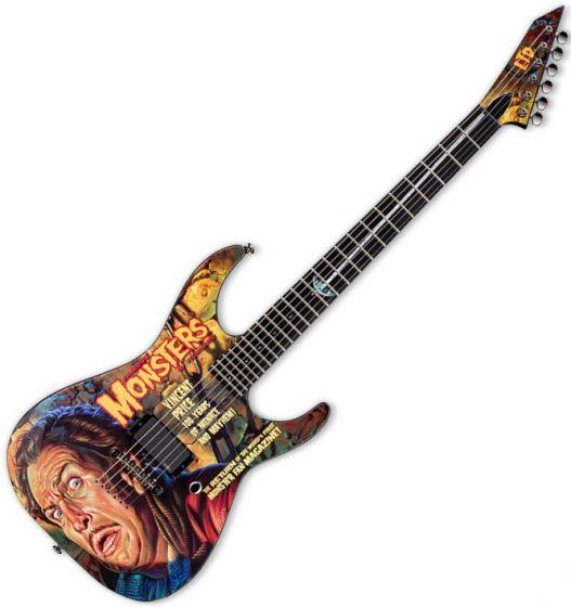 ESP LTD Famous Monster Vincent Price Electric Guitar, LFMVP