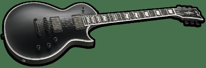 ESP E-II Eclipse Electric Guitar in Black Satin, E-II Eclipse BLKS