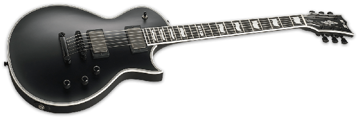 ESP E-II Eclipse Electric Guitar in Black Satin B-Stock, E-II Eclipse BLKS.B