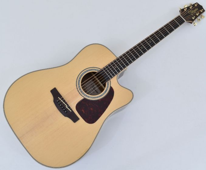 Takamine GD90CE-ZC Dreadnought Acoustic Electric Guitar Natural With Gig Bag, TAKGD90CEZCNAT