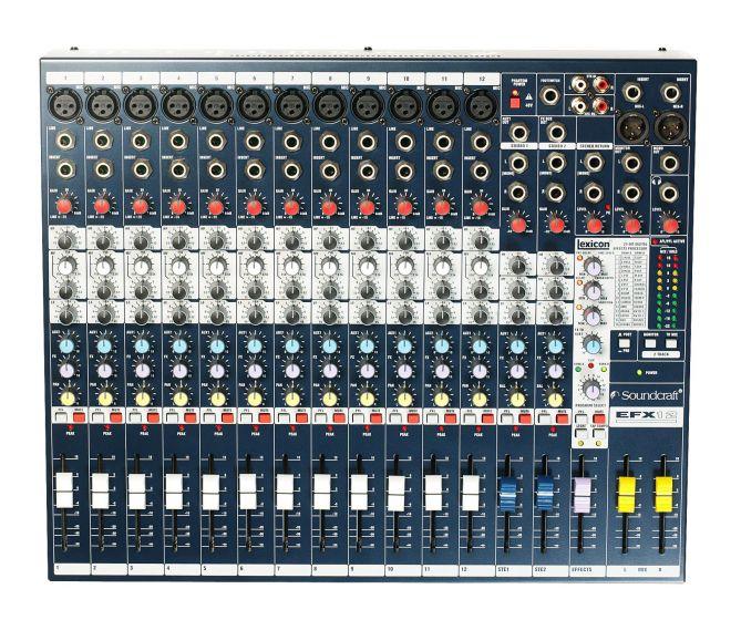 Soundcraft EFX12 Lexicon Effects Mixer, E535.100000US