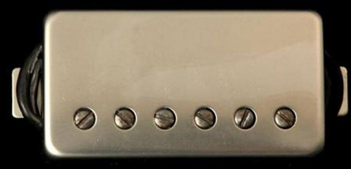 "Seymour Duncan Humbucker SH-11 Custom ""Custom"" Pickup Nickel Cover, 11102-70-Nc"