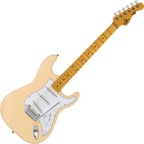 G&L Tribute S-500 Electric Guitar Vintage White, TI-S50-134R05M11