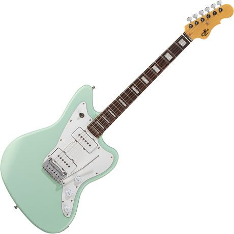 G&L Tribute Doheny Electric Guitar Surf Green, TI-DOH-113R51R13
