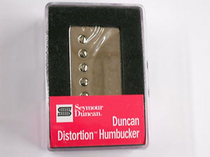 Seymour Duncan Humbucker SH-6N Duncan Distortion Neck Pickup Nickel Cover, 11102-25-Nc