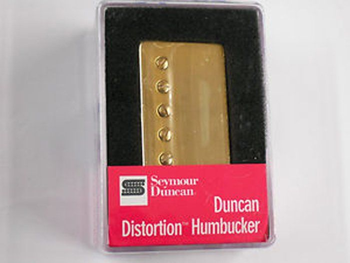 Seymour Duncan Humbucker SH-6N Duncan Distortion Neck Pickup Gold Cover[, 11102-25-Gc]