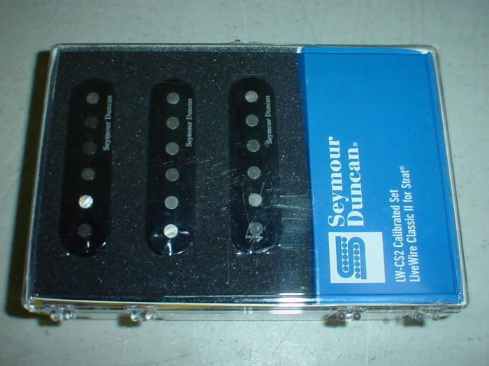 Seymour Duncan LW-CS2S Live Wire Classic 2 for Strat Pickup Set, 11206-09