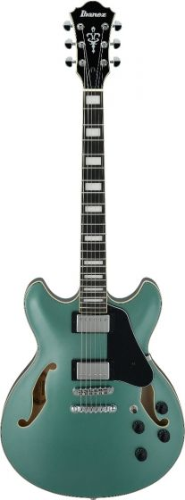 Ibanez AS73 Artcore Olive Metallic OLM AS Hollow Body Electric Guitar, AS73OLM