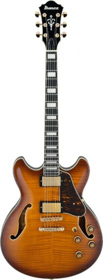 Ibanez AS Artcore Expressionist AS93FM VLS Violin Sunburst Hollow Body Electric Guitar, AS93FMVLS