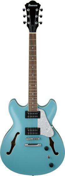 Ibanez AS63 MTB AS Artcore Vibrante Mint Blue Semi-Hollow Body Electric Guitar, AS63MTB