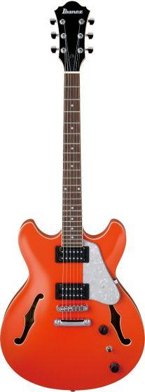 Ibanez AS63 TLO AS Artore Vibrante Twilight Orange Semi-Hollow Body Electric Guitar, AS63TLO