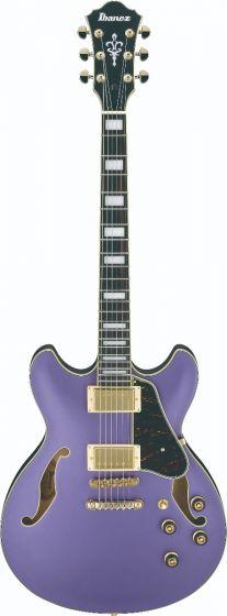 Ibanez AS73G MPF AS Artcore Metallic Purple Flat Semi-Hollow Body Electric Guitar, AS73GMPF