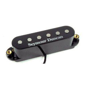 Seymour Duncan Humbucker STK-S6 Custom Stack Plus Pickup *Black or White Cover*, 11203-16