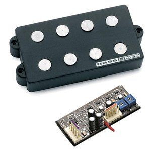 Seymour Duncan SMB-4DS 4-String Ceramic Magnet Pickup & 3-Band Tone Circuits For Music Man[, 11402-25]