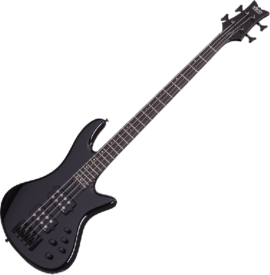 Schecter Stiletto Stage-4 Electric Bass Gloss Black, 2481