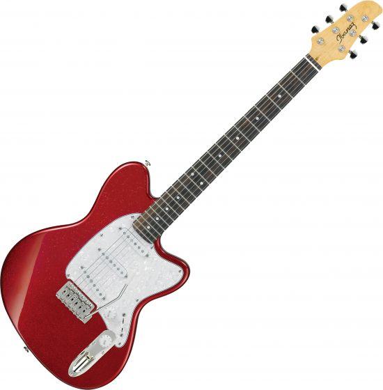 Ibanez Talman Standard TM330P Electric Guitar Red Sparkle, TM330PRSP