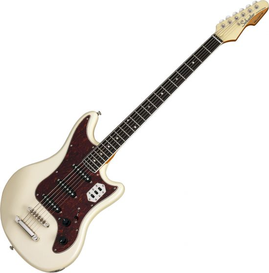 Schecter Hellcat-VI Electric Guitar Ivory Pearl, SCHECTER294