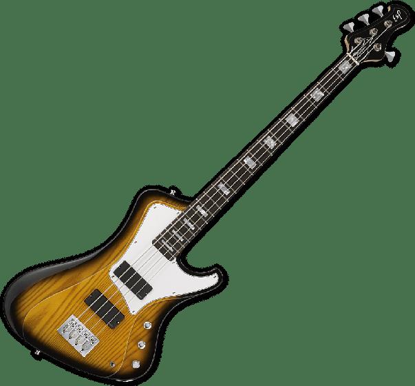 ESP Original Stream Electric Bass Guitar in 2 Tone Burst, ESP STREAM 2TB