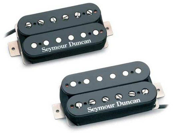 Seymour Duncan SH-4 SH-2n Hot Rodded Humbucker Black set of 2, 11108-13-B