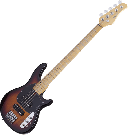 Schecter CV-5 Electric Bass 3-Tone Sunburst, 2494