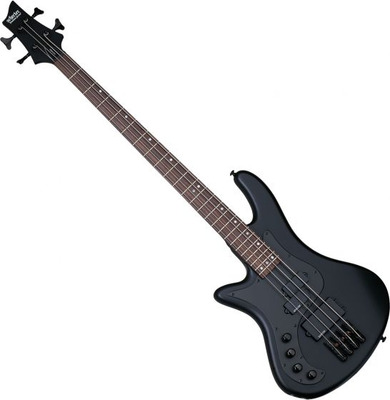 Schecter Stiletto Stealth-4 Left-Handed Electric Bass Satin Black, 2526