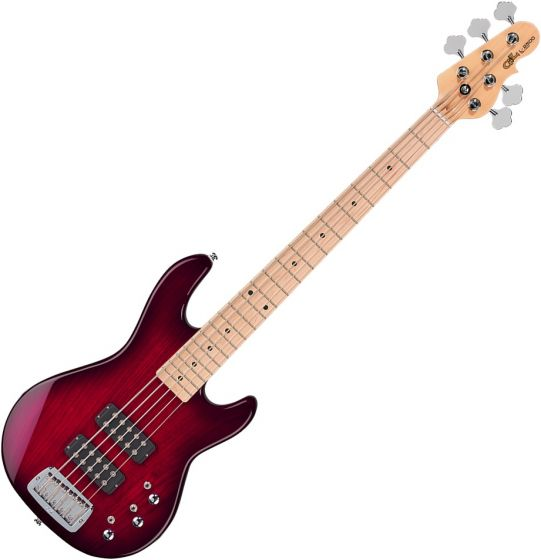 G&L Tribute L-2500 Electric Bass Redburst[, TI-L25-121R23M00]