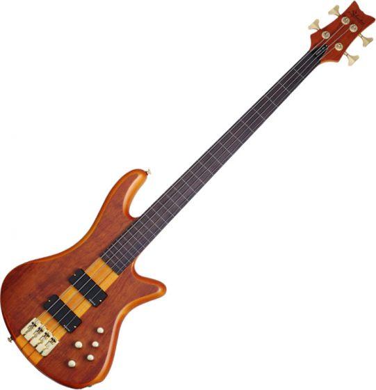 Schecter Stiletto Studio-4 FL Electric Bass Honey Satin, 2750