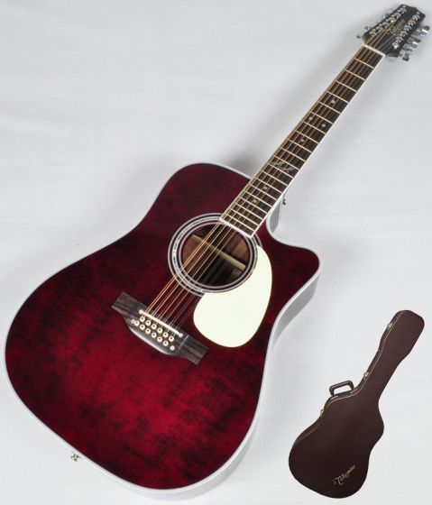 Takamine Signature Series JJ325SRC-12 John Jorgenson 12 String Acoustic Guitar in Gloss Polyurethane Finish[, TAKJJ325SRC12]